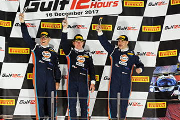 UNITED AUTOSPORTS WIN IN ABU DHABI AND SCORE TRIPLE PODIUM AT FINAL EVENT OF THE YEAR