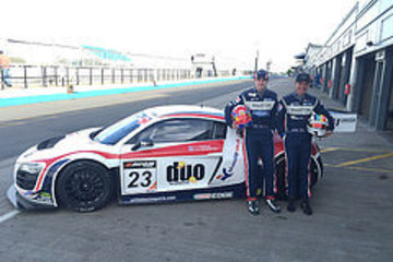Breeze And Davenports Winning Drive In Audi R8 LMS Ultra