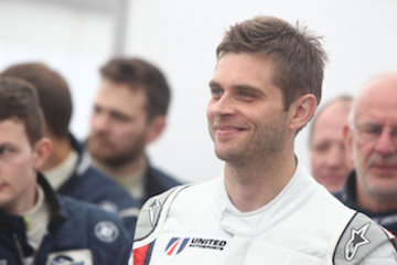 Christian England returns to United Autosports to race in MLMC.