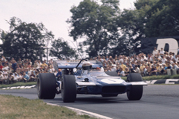 United Autosports restored this 1970 March 701 racing car, driven by Jackie Stewart.