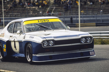 United Autosports restored this 1974 Ford Cologne Capri RS3100 racing car, driven by Niki Lauda.