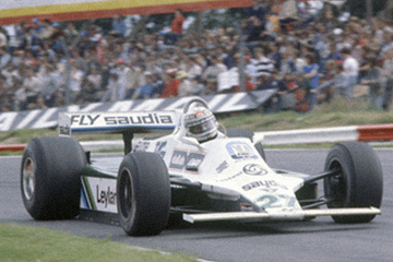 United Autosports restored this 1980 Williams FW07B racing car, driven by Alan Jones.