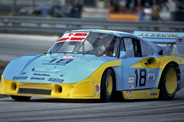 United Autosports restored this 1981 Porsche 935 JLP-3 IMSA racing car, driven by John Paul Snr.