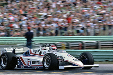 United Autosports restored this 1984 MARCH 84C racing car, driven by Bobby Rahal.