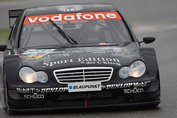United Autosports restored this 2005 AMG Mercedes C Class DTM racing car, driven by Mika Hakkinen.