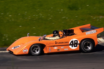 Historic racing cars - 1970 McLaren M8D - Restored by United Autosports