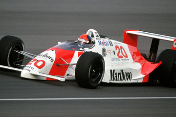 Historic racing cars - 1989 Penske PC18 - Restored by United Autosports