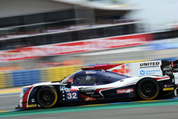 LE MANS 24 HOURS PODIUM CONFIRMED FOR UNITED AUTOSPORTS