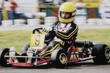 United Autosports shake down the last kart ever raced by Ayrton Senna.