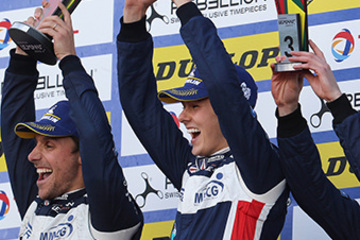 STUNNING VICTORY & TRIPLE PODIUM SEES UNITED AUTOSPORTS END ELMS SEASON ON A HIGH
