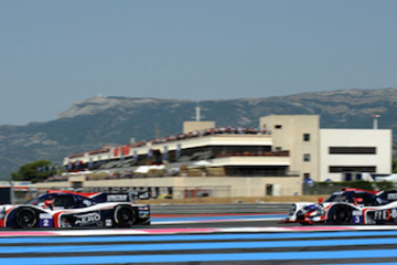 Racing series United Autosports compete in