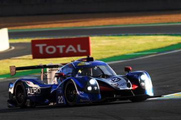 "UNITED AUTOSPORTS' LIGIERS CLAIM THREE PLACES IN TOP-NINE IN ""ROAD TO LE MANS"""