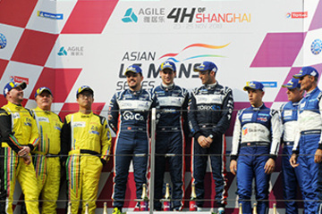 TRIPLE PODIUM FOR UNITED AUTOSPORTS IN ASIAN LE MANS SERIES DEBUT