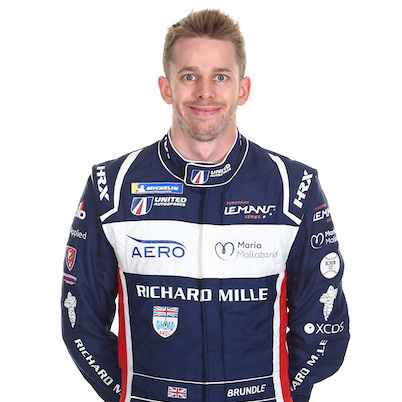 Alex Brundle - LMP2 endurance racing car driver with United Autosports
