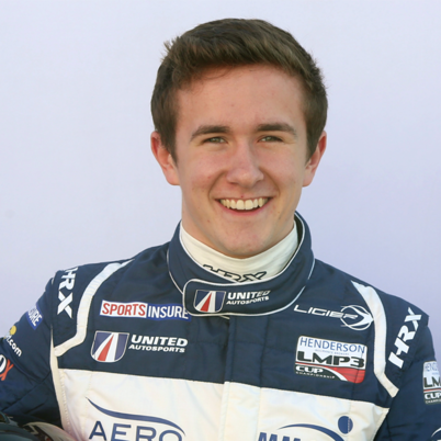 Andrew Evans, racing driver for United Autosports