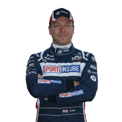 Chris Hoy - former Olympic cycling champion and now endurance racing car driver.