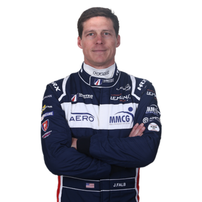 John Falb - LMP3 endurance racing car driver with United Autosports
