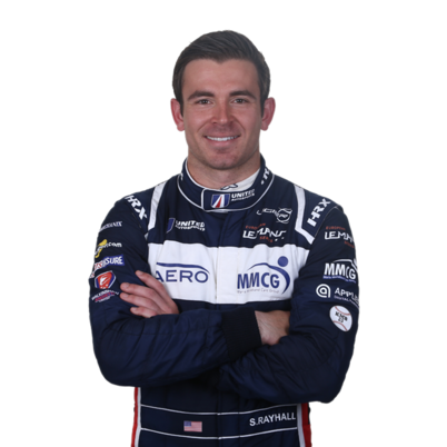 Sean Rayhall - LMP3 endurance racing car driver with United Autosports