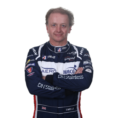 Tony Wells - LMP3 endurance racing car driver with United Autosports