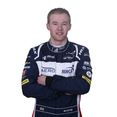 Wayne Boyd - LMP3 endurance racing car driver with United Autosports