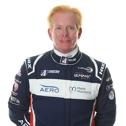 Jim McGuire - LMP3 endurance racing car driver with United Autosports