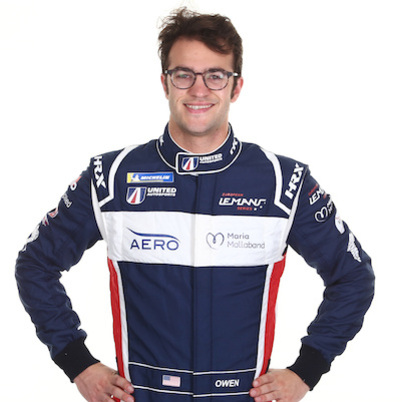 Will Owen - LMP2 endurance racing car driver with United Autosports