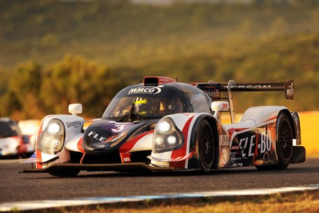 United Autosports leads early and finishes second locking out a podium at every race this season