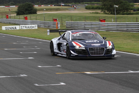 United Autosports take positives from Snetterton GT Cup
