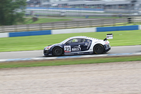 Phil Burgan shows strong pace at Donington Park