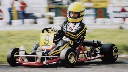 United Autosports shake down the last kart ever raced by Ayrton Senna