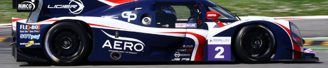 American born John Falb races for the United Autosports team in the LMP3 class.