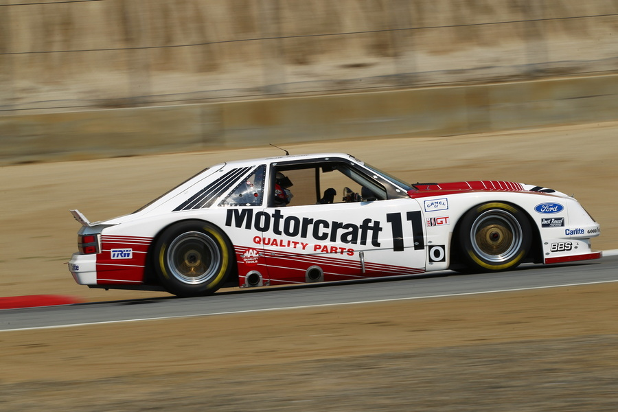 The Historic IMSA GTO Challenge weekend begins on Friday 12th April
